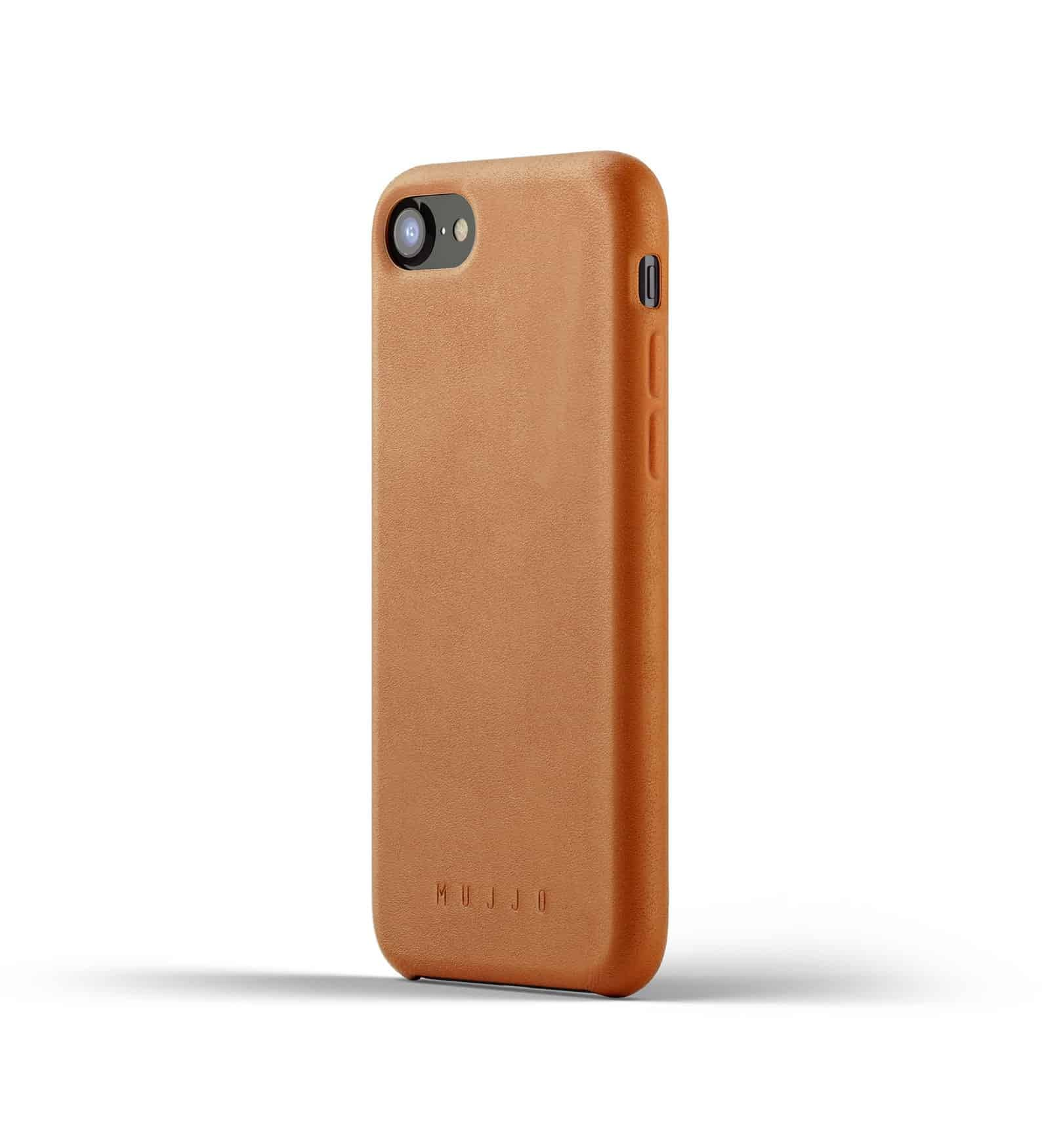 Full leather case for iPhone 8 Tan Thumbnail 01