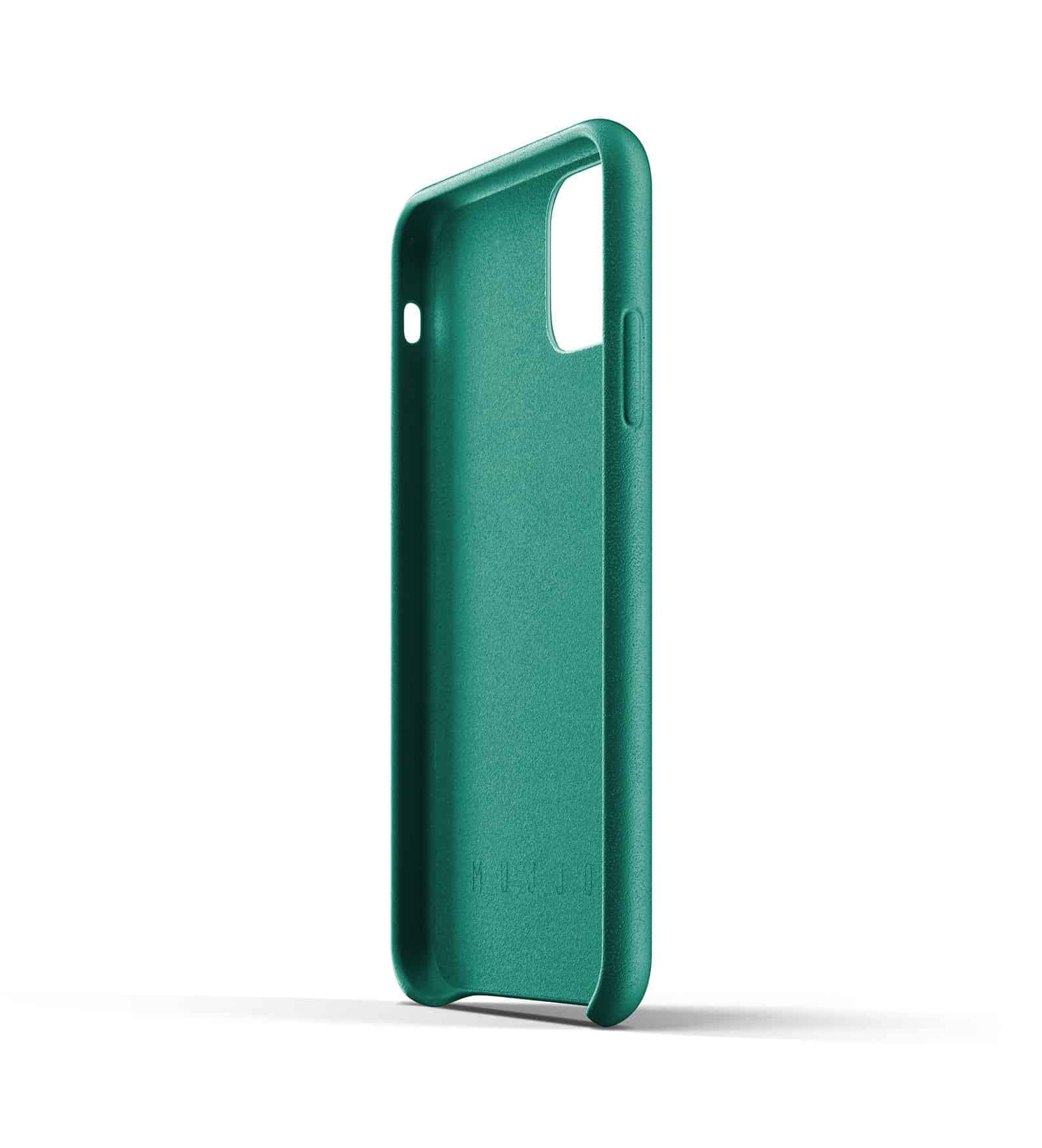 Full leather wallet case for iPhone 11 Alpine Green Thumbnail 05