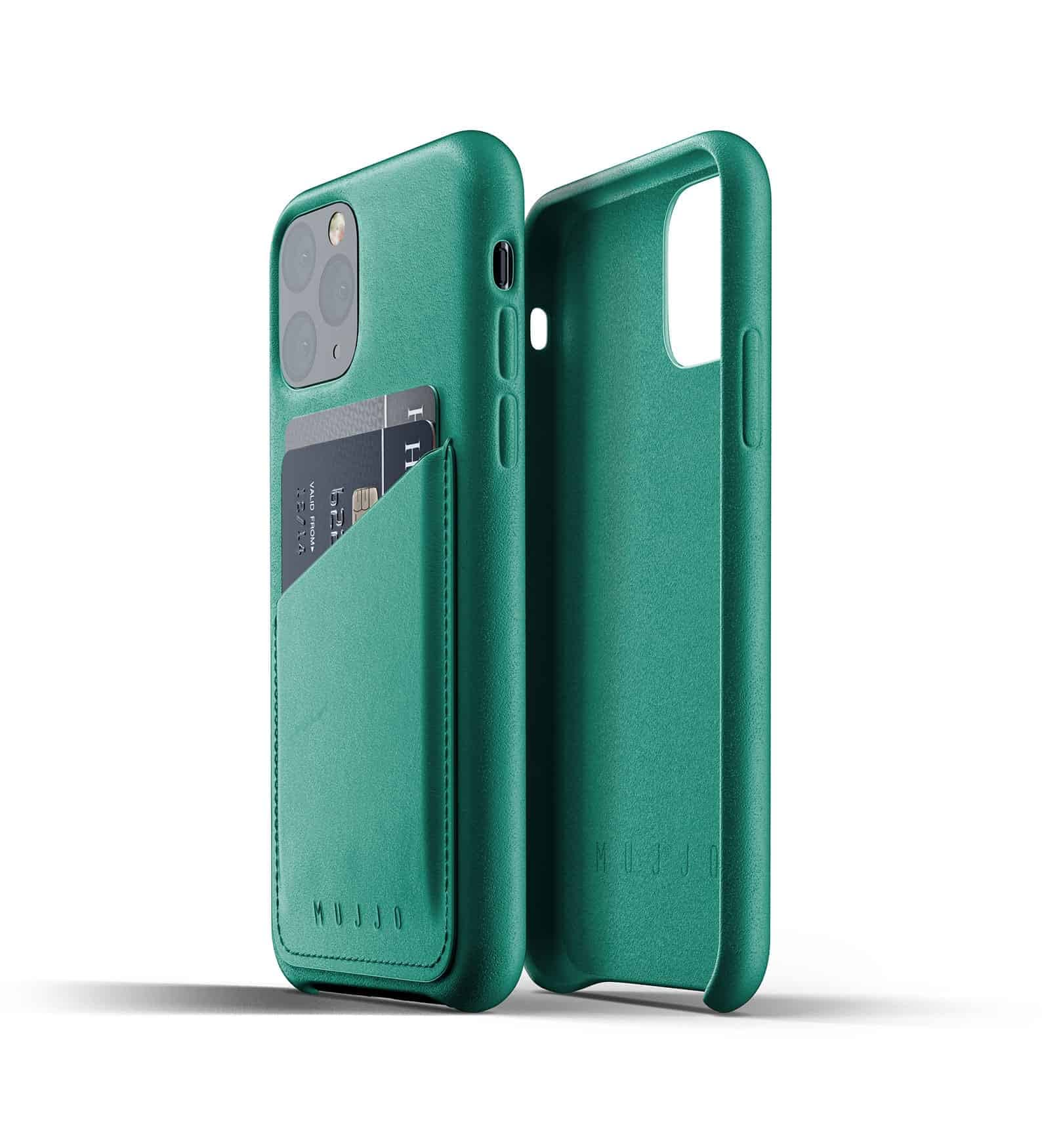 Full leather wallet case for iPhone 11 Pro Alpine Green Thumbnail 02