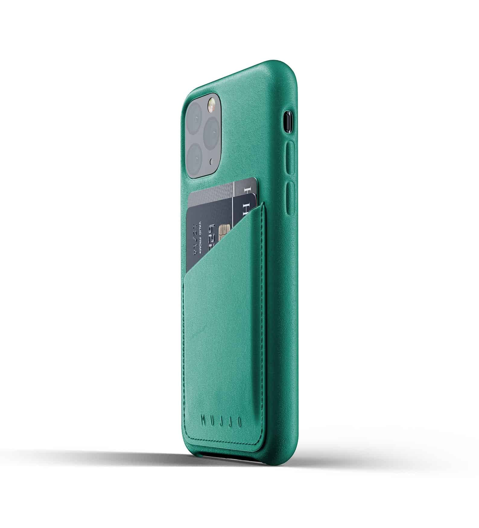 Full leather wallet case for iPhone 11 Pro Alpine Green Thumbnail 03