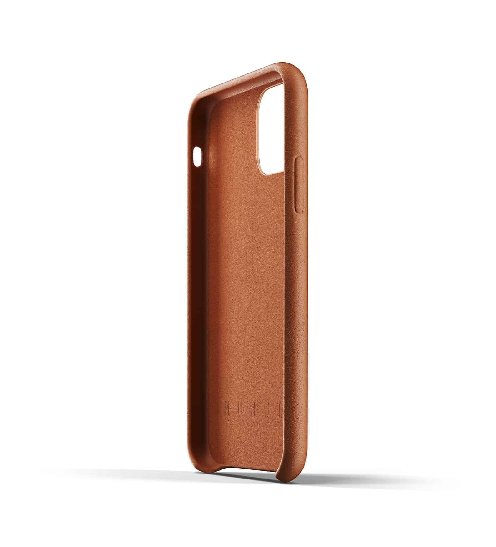 Full leather wallet case for iPhone 11 Pro Tan Thumbnail 05