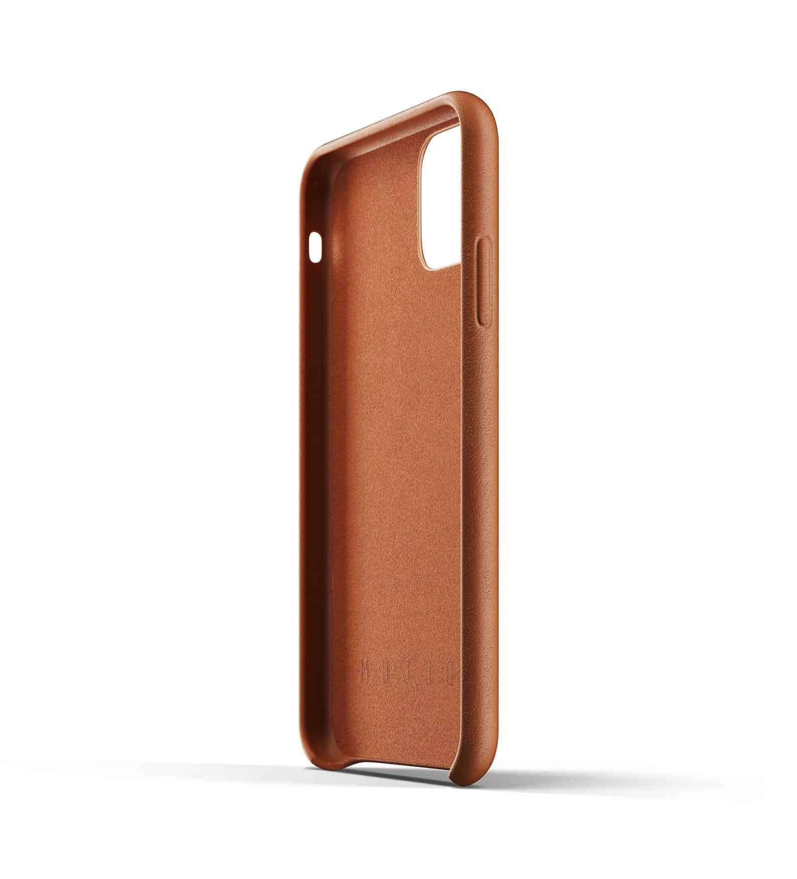 Full leather wallet case for iPhone 11 Tan Thumbnail 05