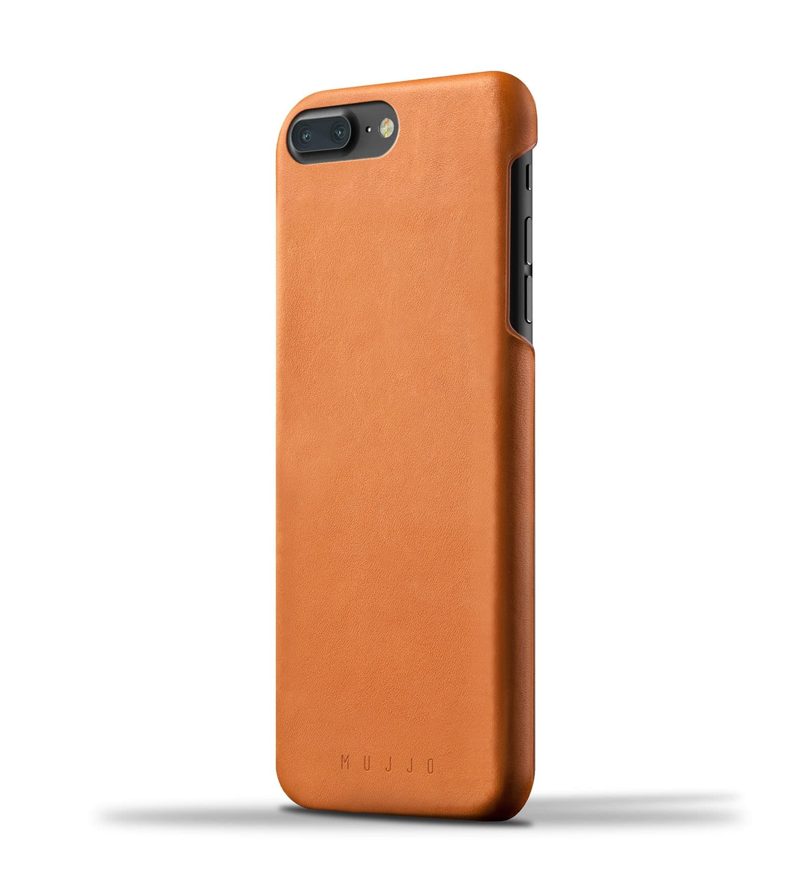 Leather Case for iPhone 8 Plus : 7 Plus Tan Thumbnail 001