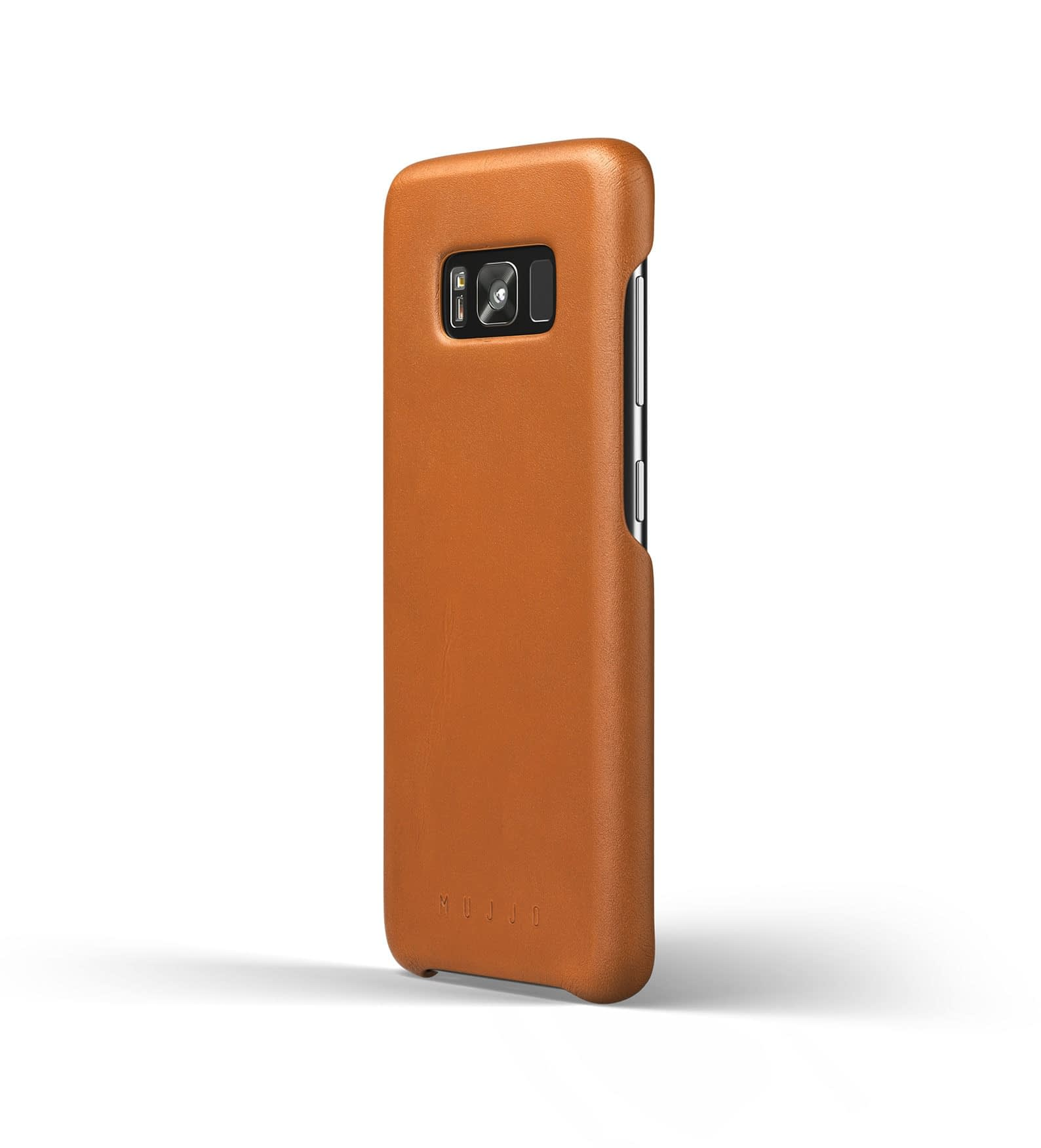 Leather case for Galaxy S8 Saddle Tan Thumbnail  1