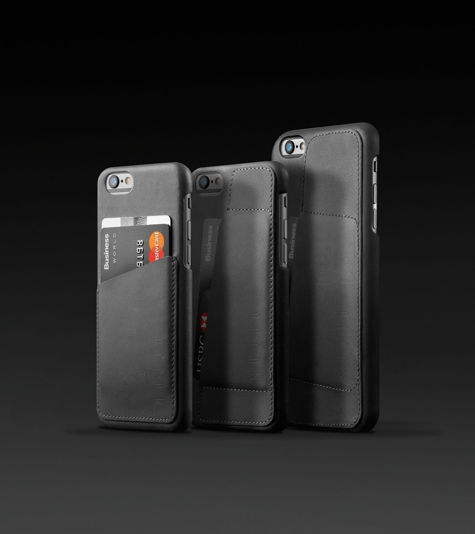 Leather Wallet Case foriPhone 6 Gray Lineup
