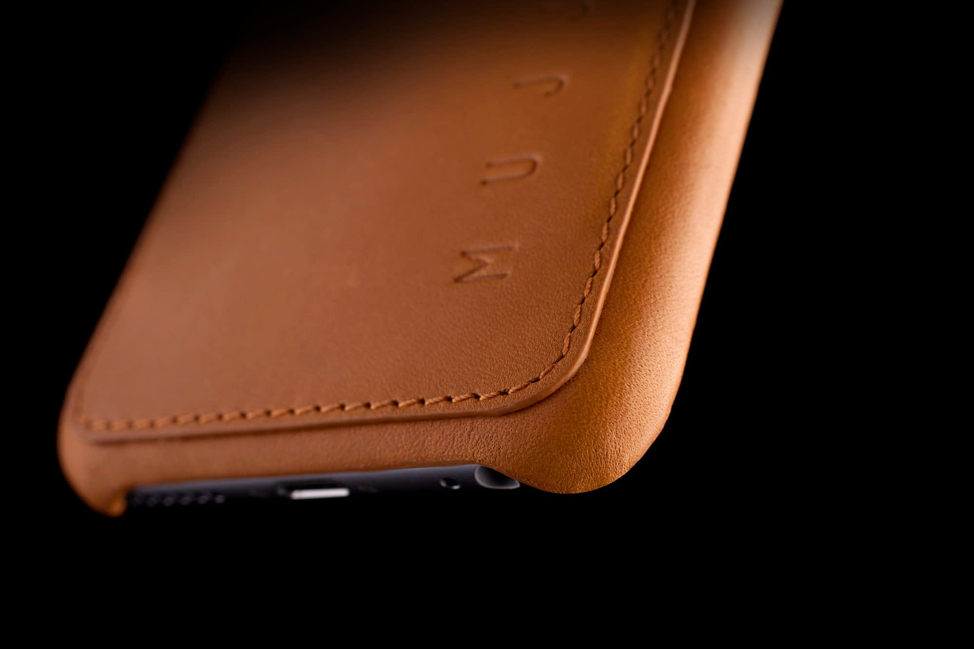 Leather Wallet Case for iPhone 6 Tan Lifestyle 007