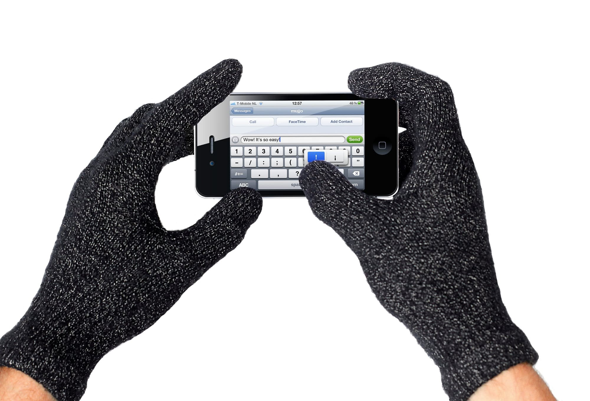 Mujjo touchscreen gloves touch gloves