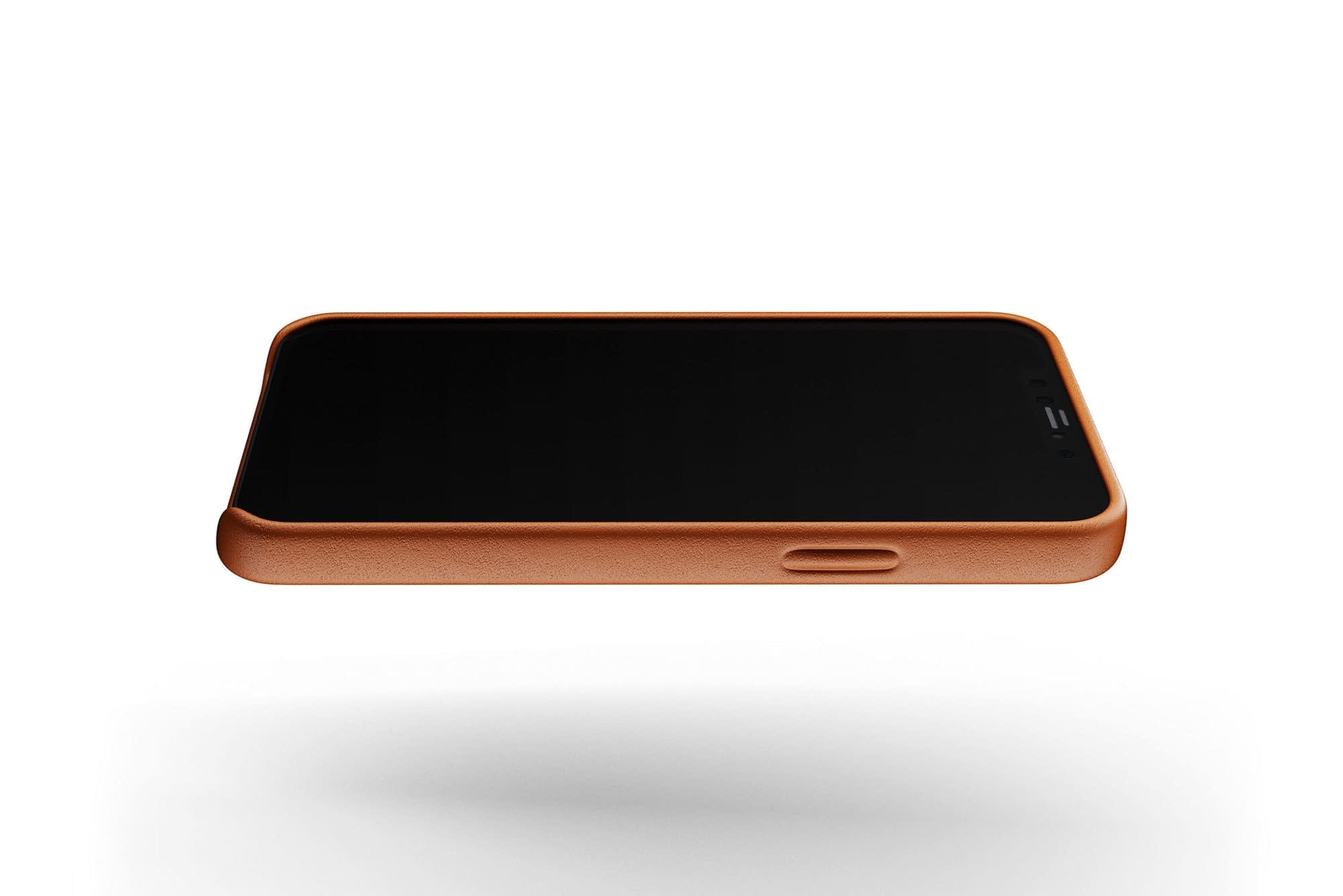Full Leather Case for iPhone 12 12 Pro Tan 05
