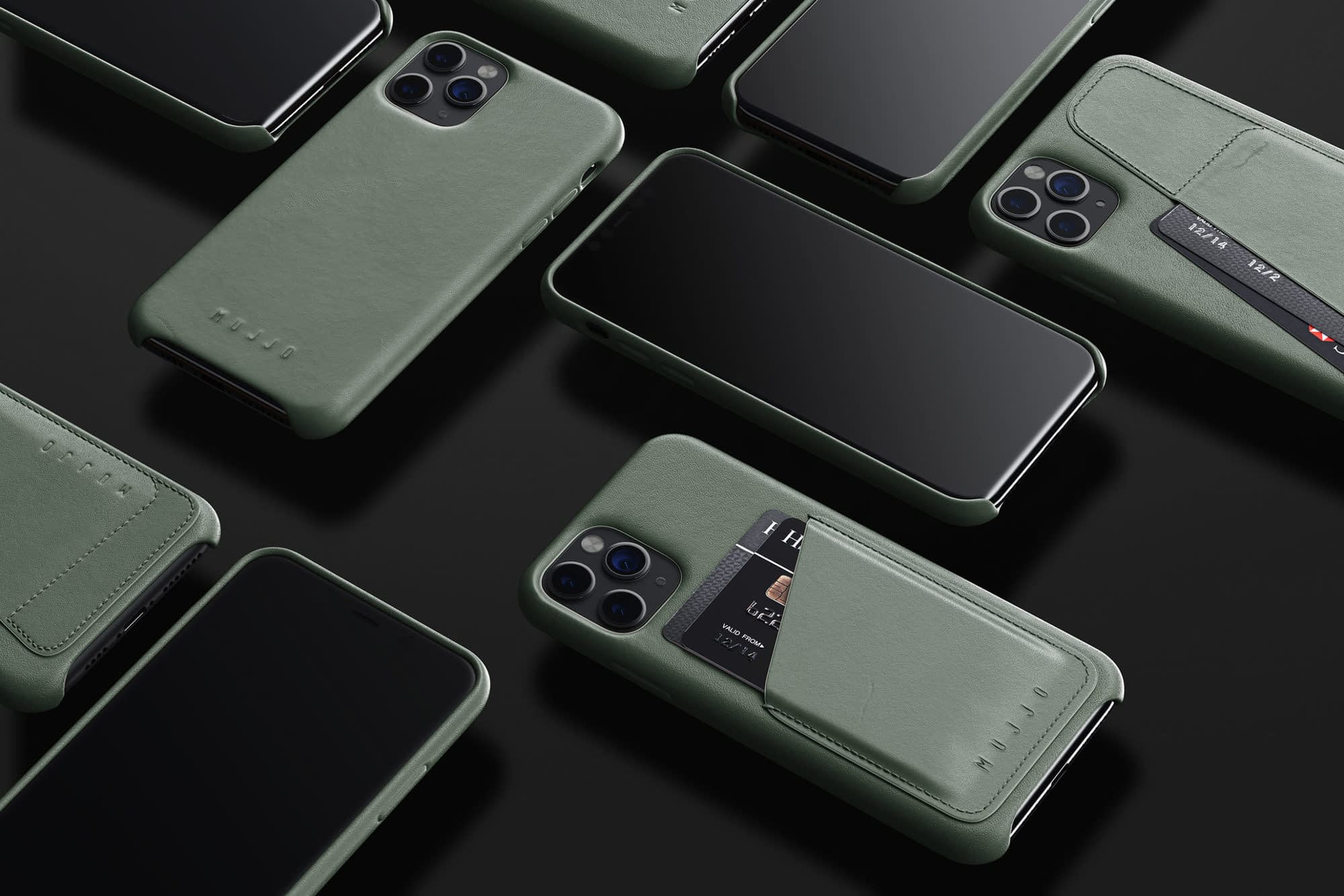 Full Leather Wallet Cases for iPhone 11 Pro and Pro Max 01