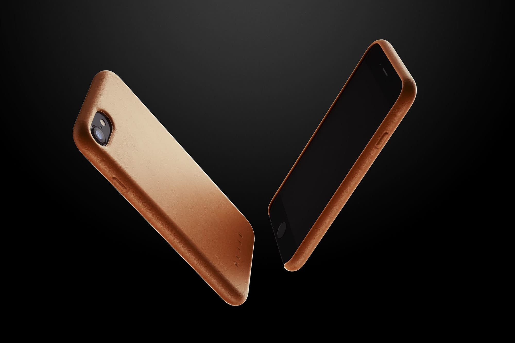 Full leather case for iPhone 8 Tan 02