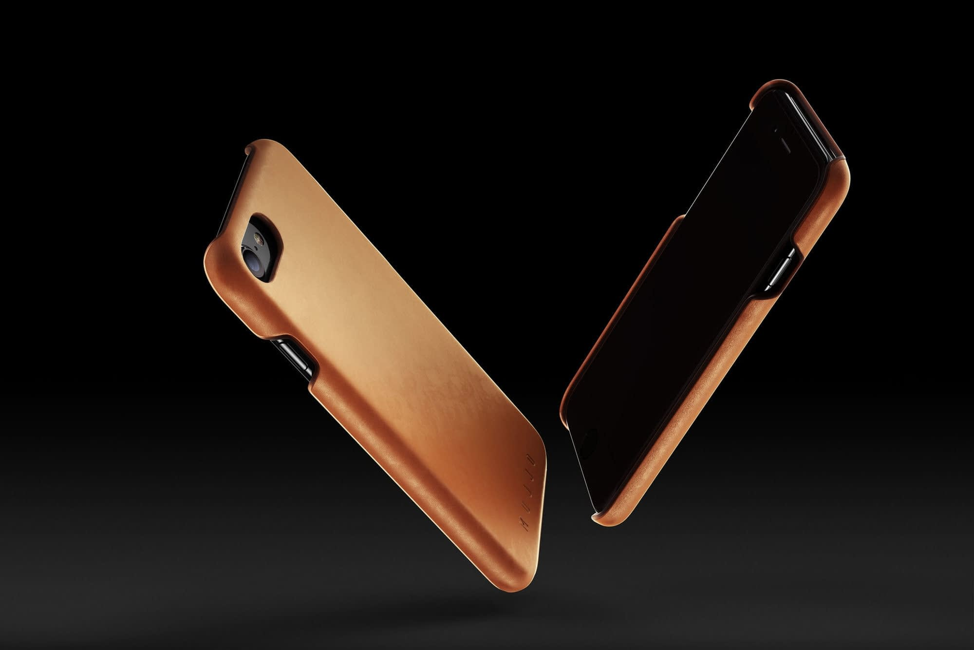 Leather Case for iPhone 7 Tan 003