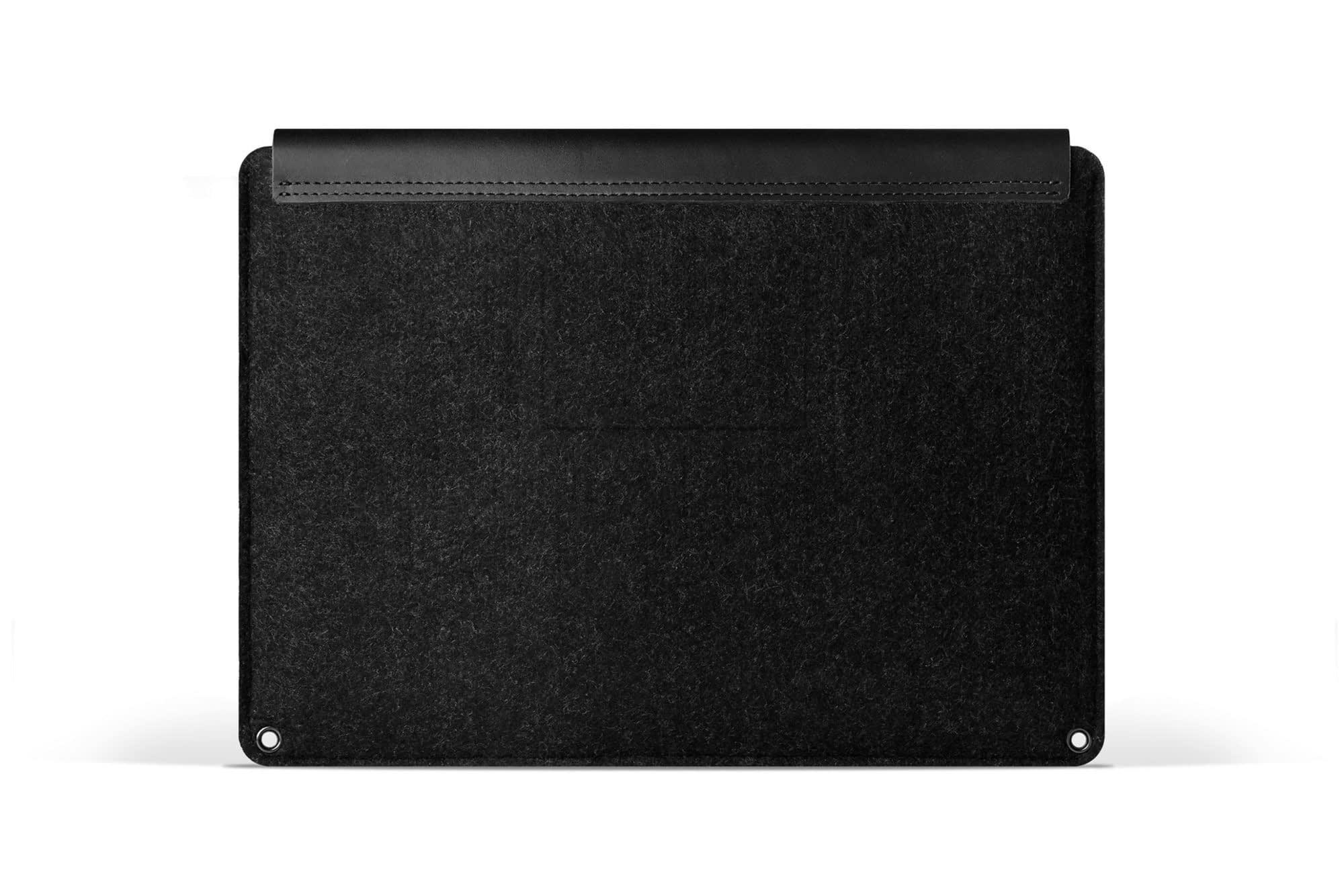 Sleeve for 12 Macbook Black 03