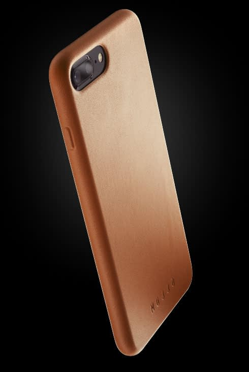 full leather case for iphone 8 plus tan 002