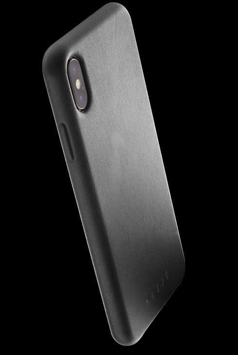 full leather case for iphone Xs Max black 002