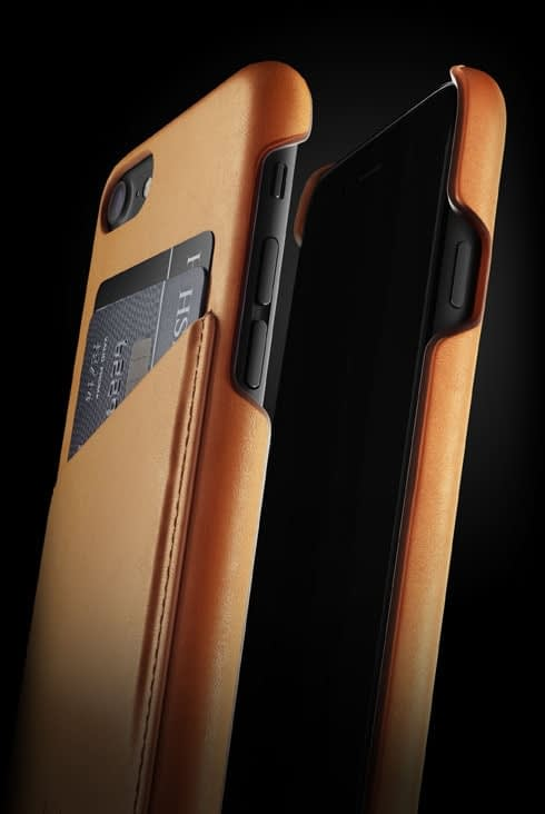 leather wallet case for iphone 7 tan 002