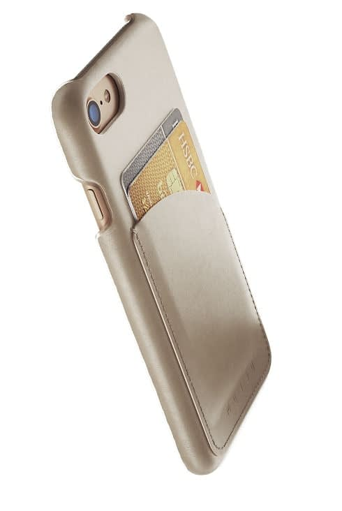 leather wallet case for iphone 8 champagne 002