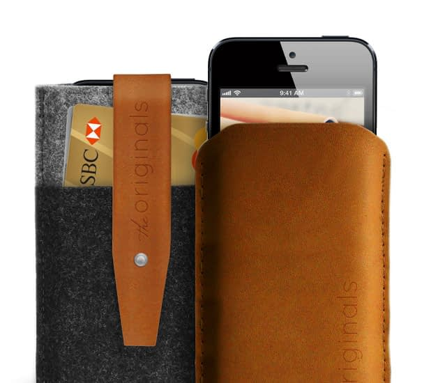 iPhone 5 sleeve and wallet the originals collection