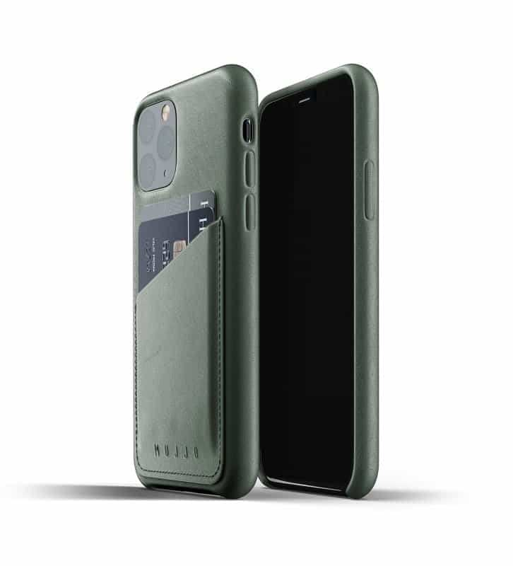Full leather wallet case for iPhone 11 Pro Slate Green Thumbnail 01 726x800