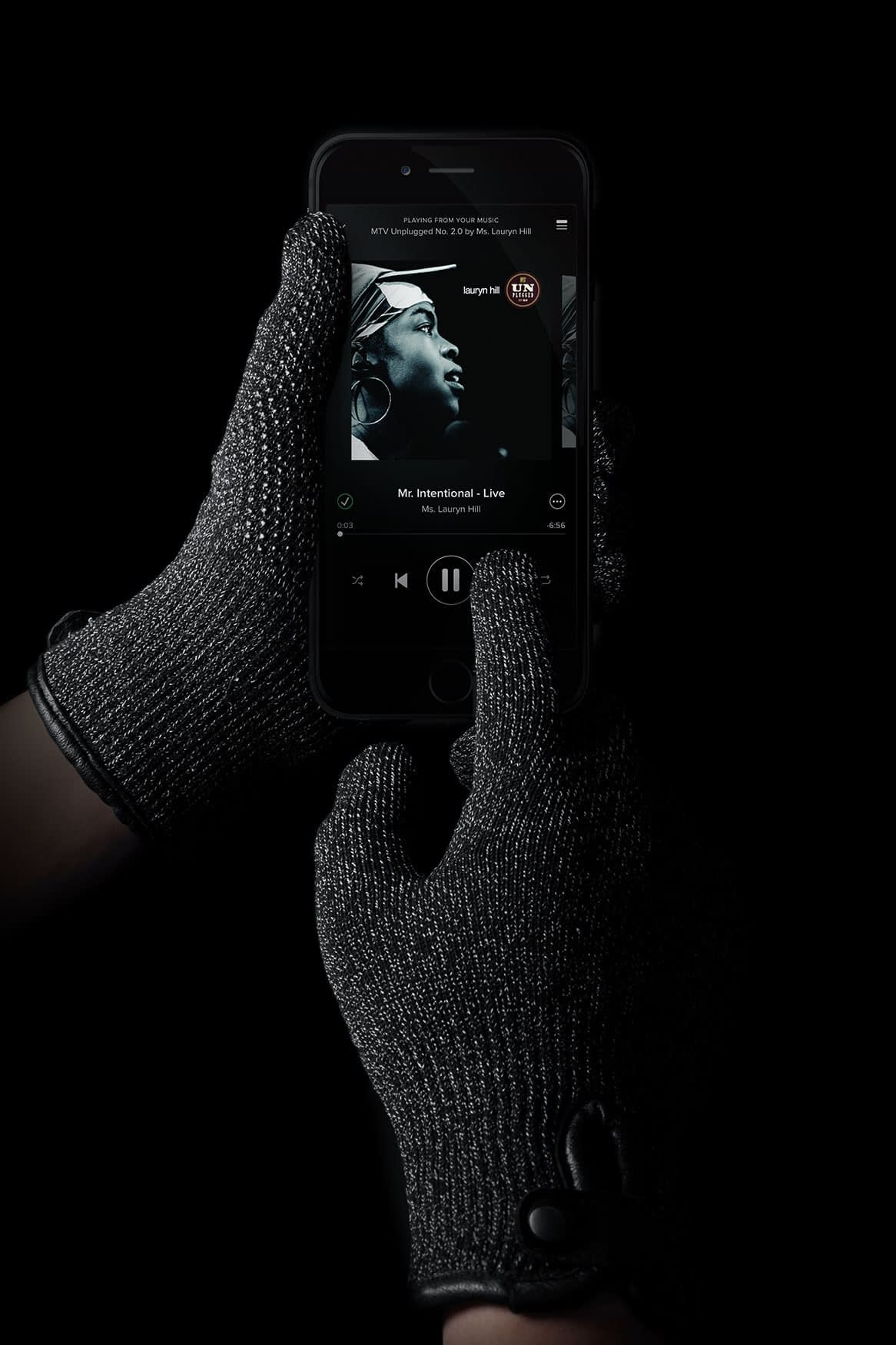 Double Layered Touchscreen Gloves 003