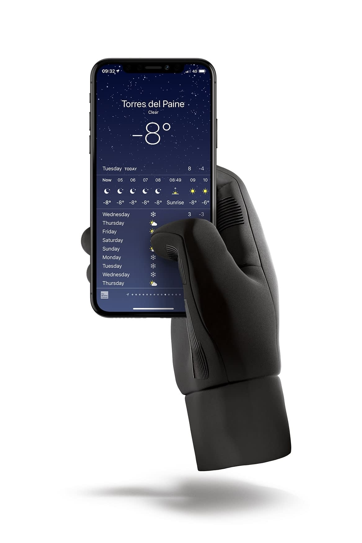 Double Insulated Touchscreen Gloves Packshot 01