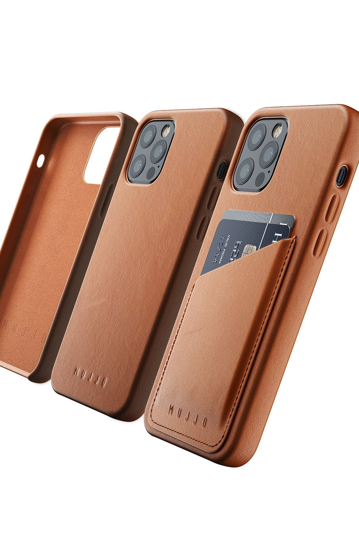 Full Leather Case for iPhone 12 12 Pro Tan 07