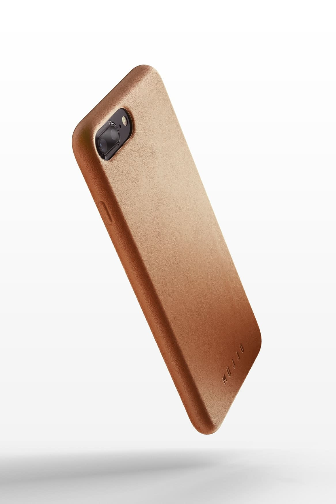 Full leather case for iPhone 8 Plus Tan 01