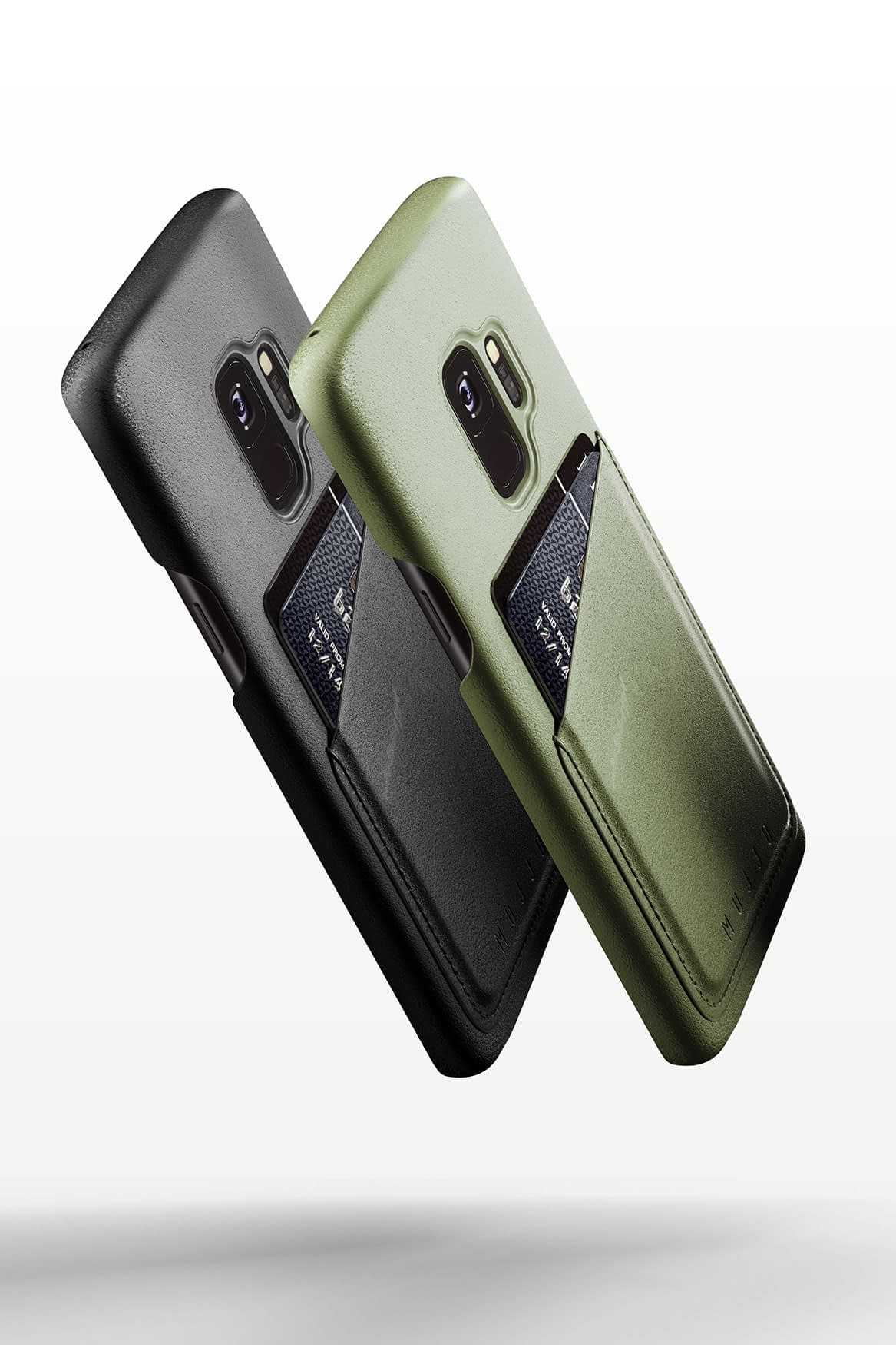 Full leather wallet case for Galaxy S9 Line up 01