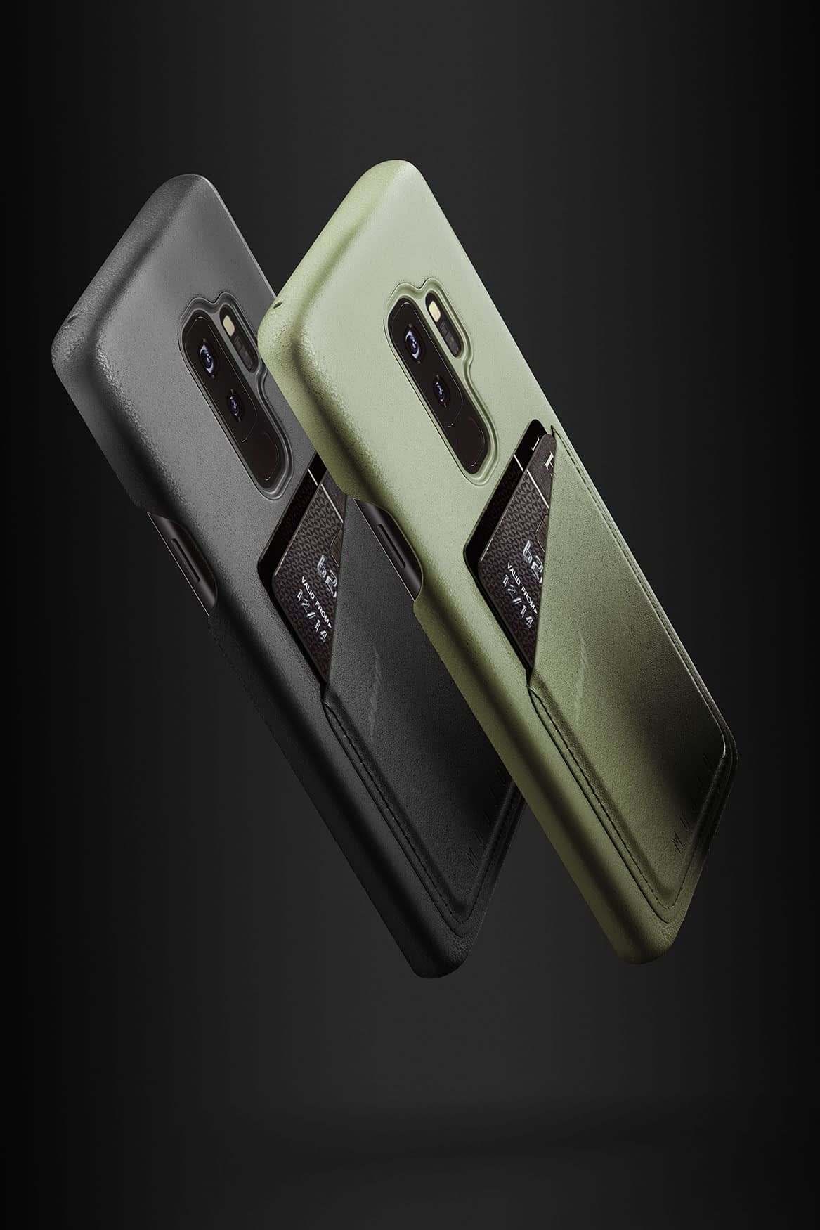 Full leather wallet case for Galaxy S9 Plus Line up 02