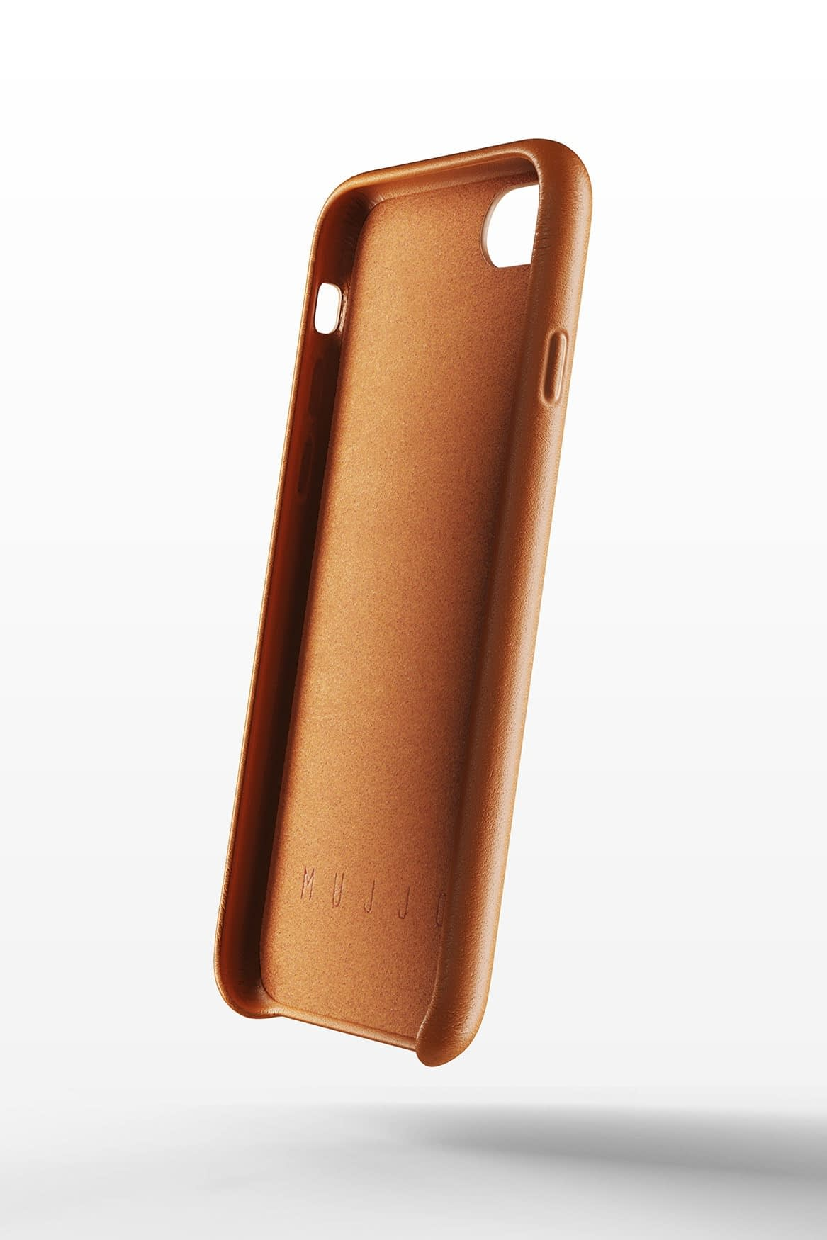 Full leather wallet case for iPhone 8 Tan 02 1