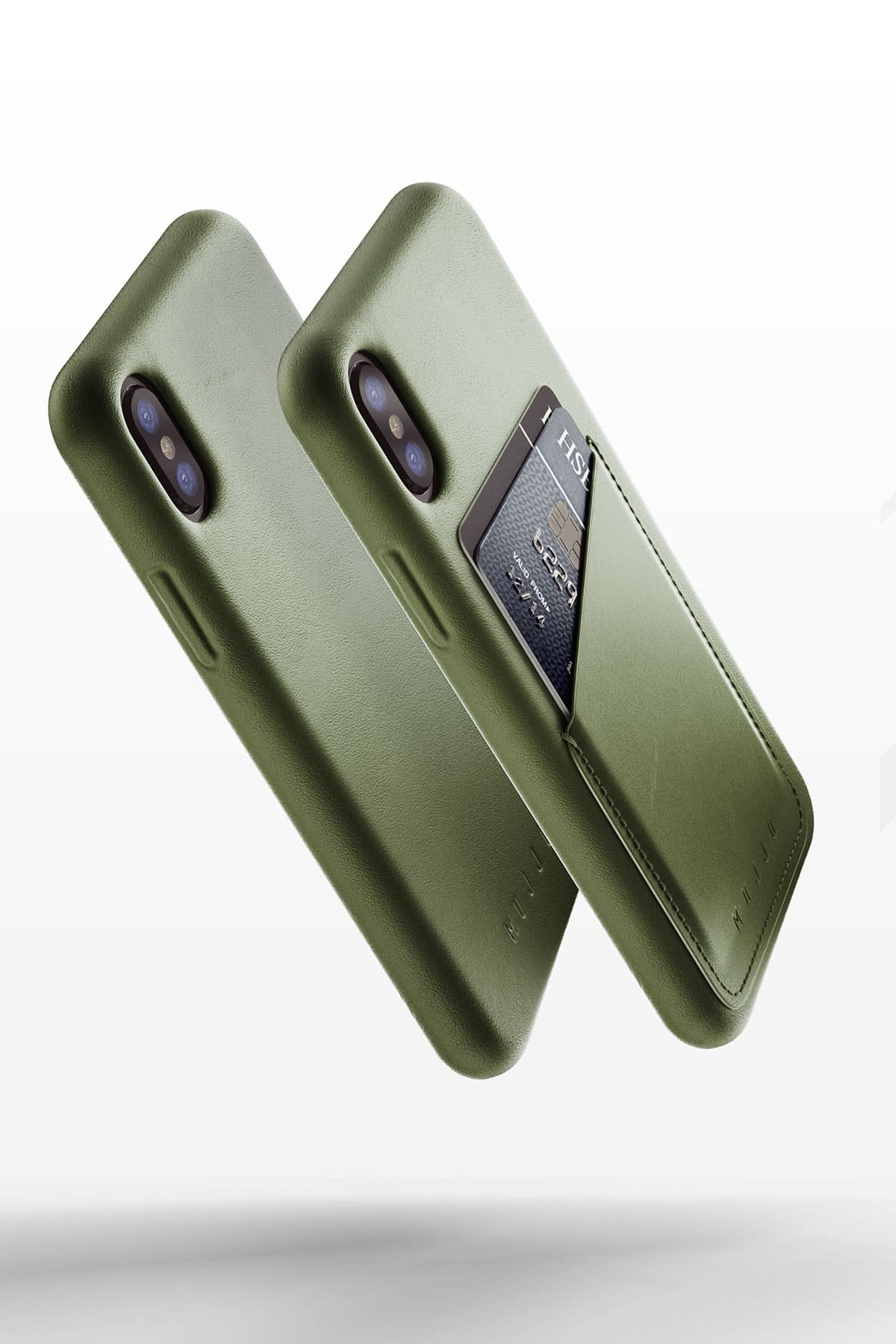 Full leather wallet case for iPhone X Line up 03