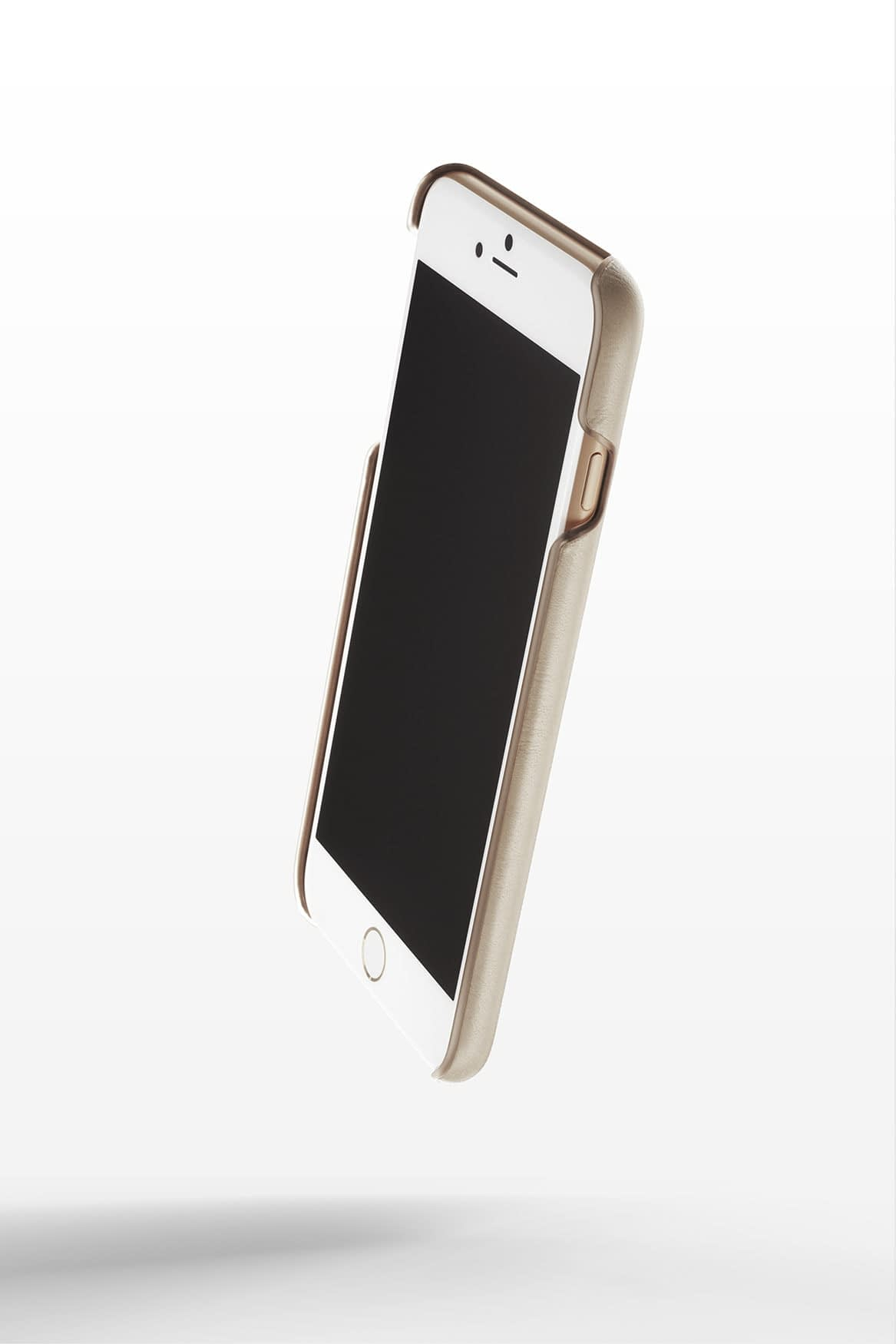 Leather Wallet Case for iPhone 8 Plus Champagne 5