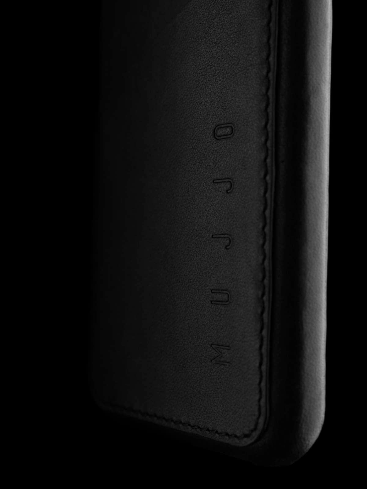 Leather Wallet Case for iPhone 6 Black Lifestyle 007
