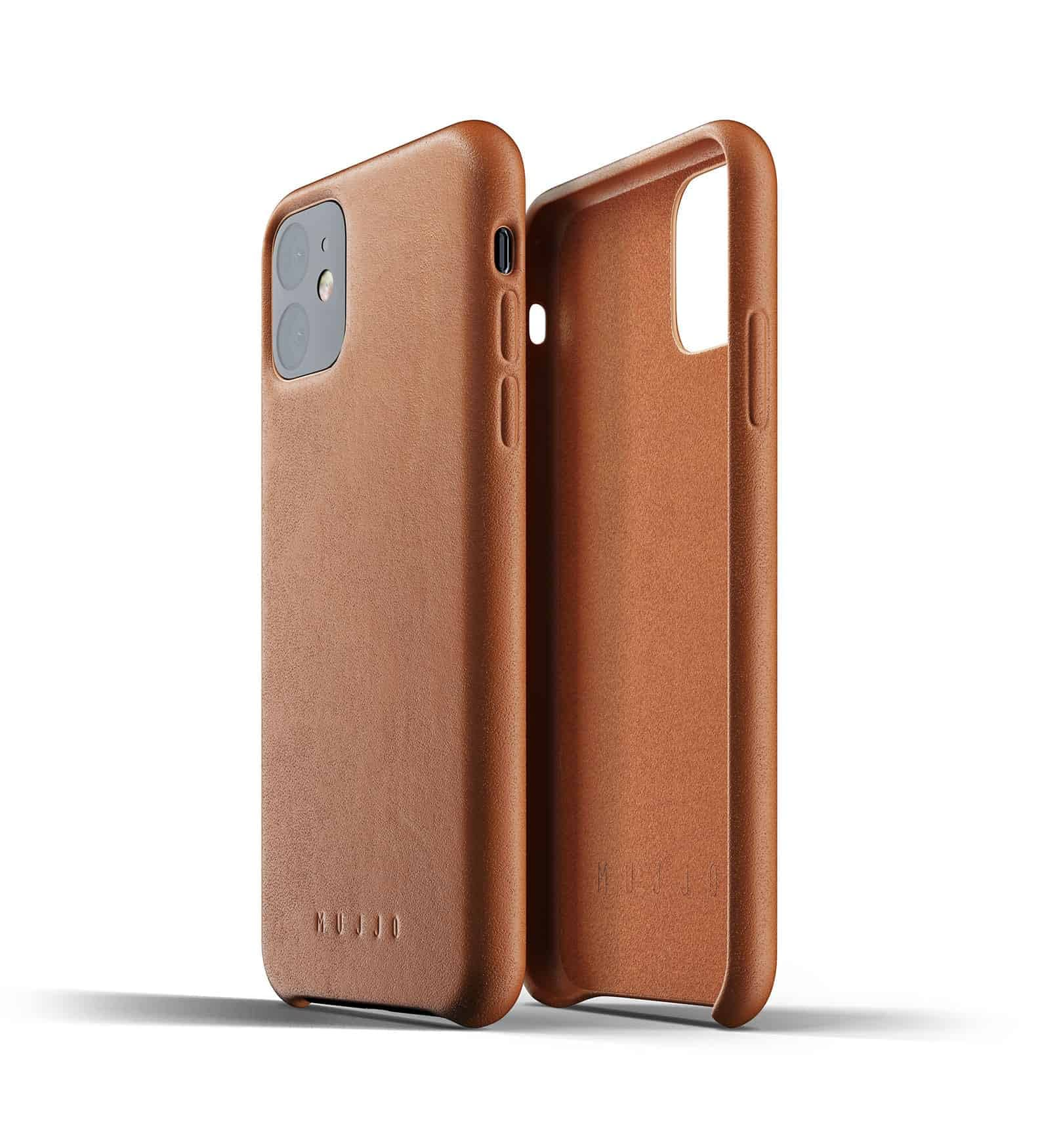 Full leather case for iPhone 11 Tan Thumbnail 02