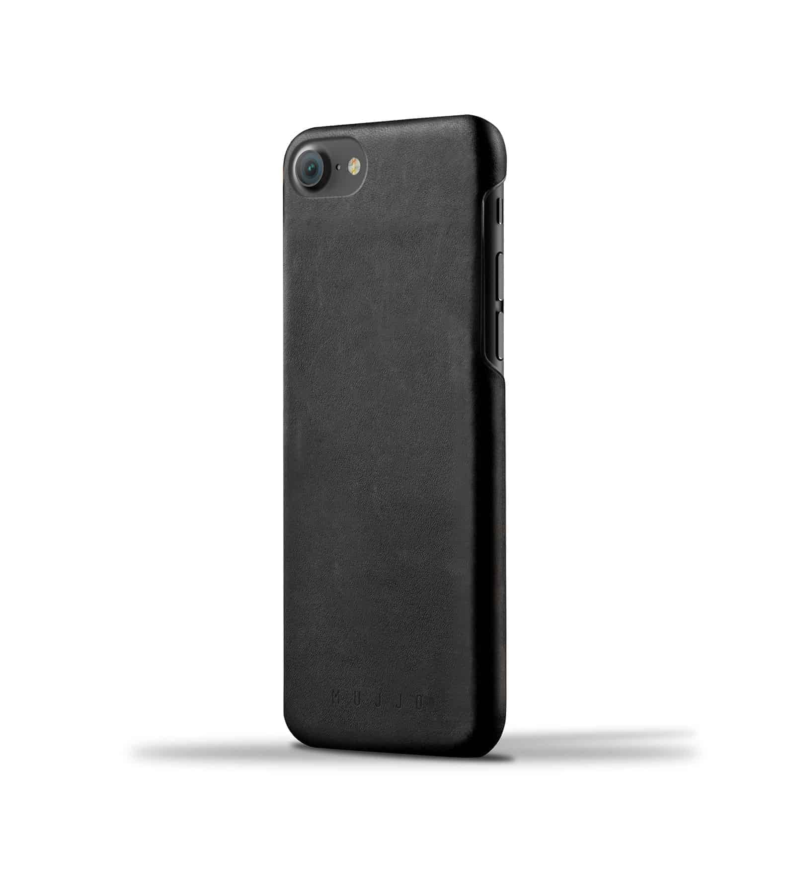 Leather Case for iPhone 8 / 7 - Black 1