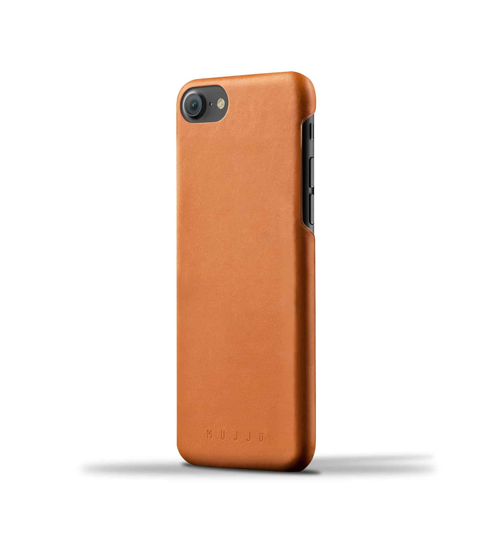 Leather Case for iPhone 8 : 7 Tan Thumbnail 001 4
