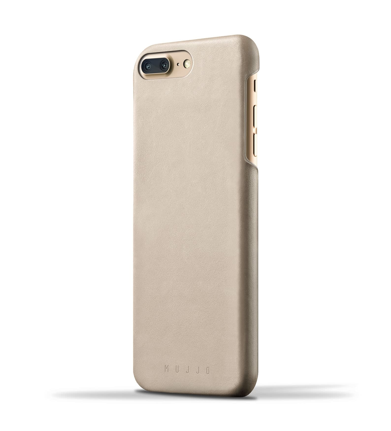 Leather Case for iPhone 8 Plus : 7 Plus Champagne Thumbnail 1