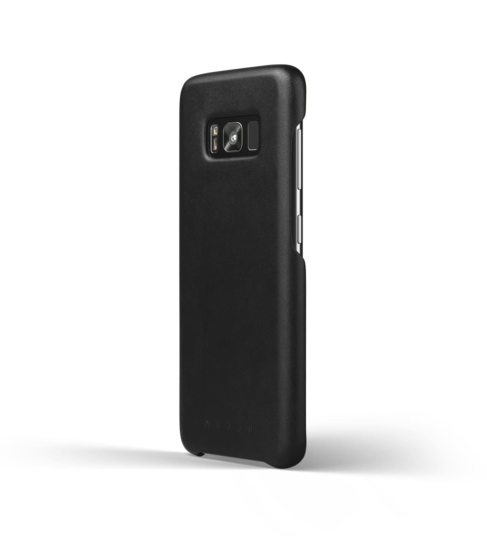 Leather case for Galaxy S8 Black Thumbnail 1