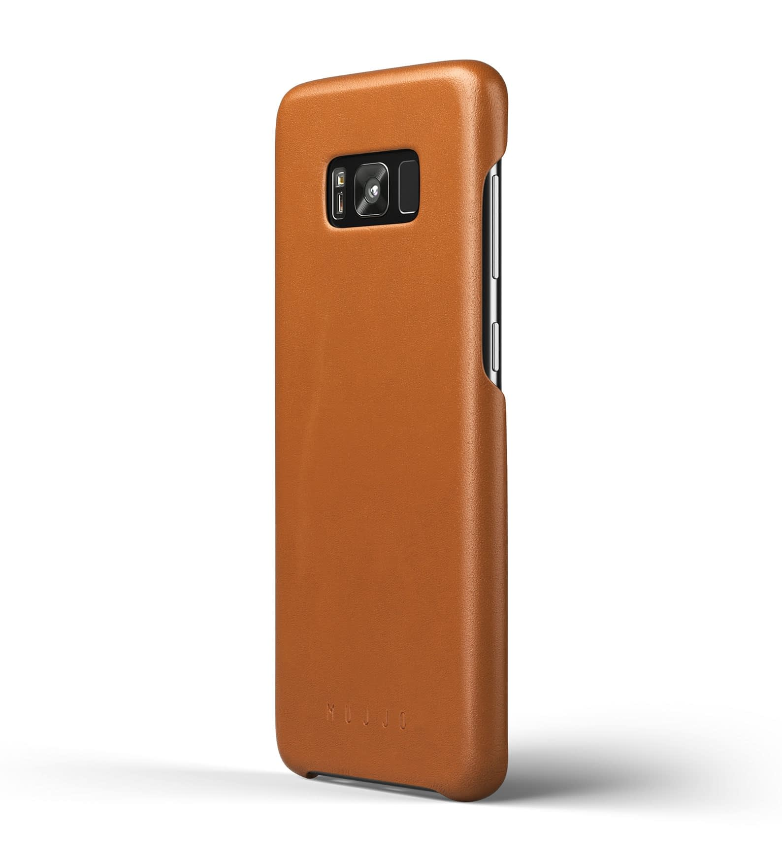 Leather case for Galaxy S8+ Saddle Tan Thumbnail  1