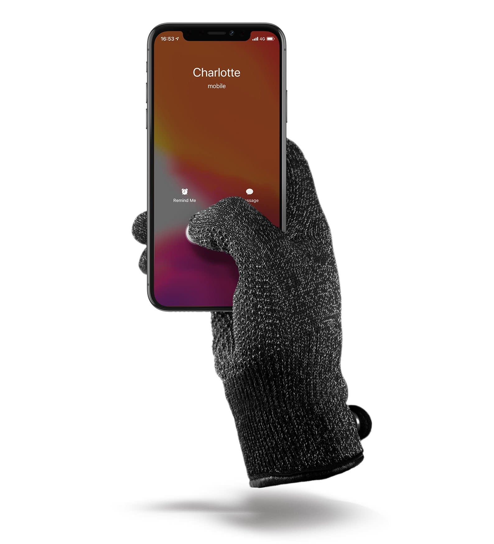 double layered touchscreen gloves thumbnail