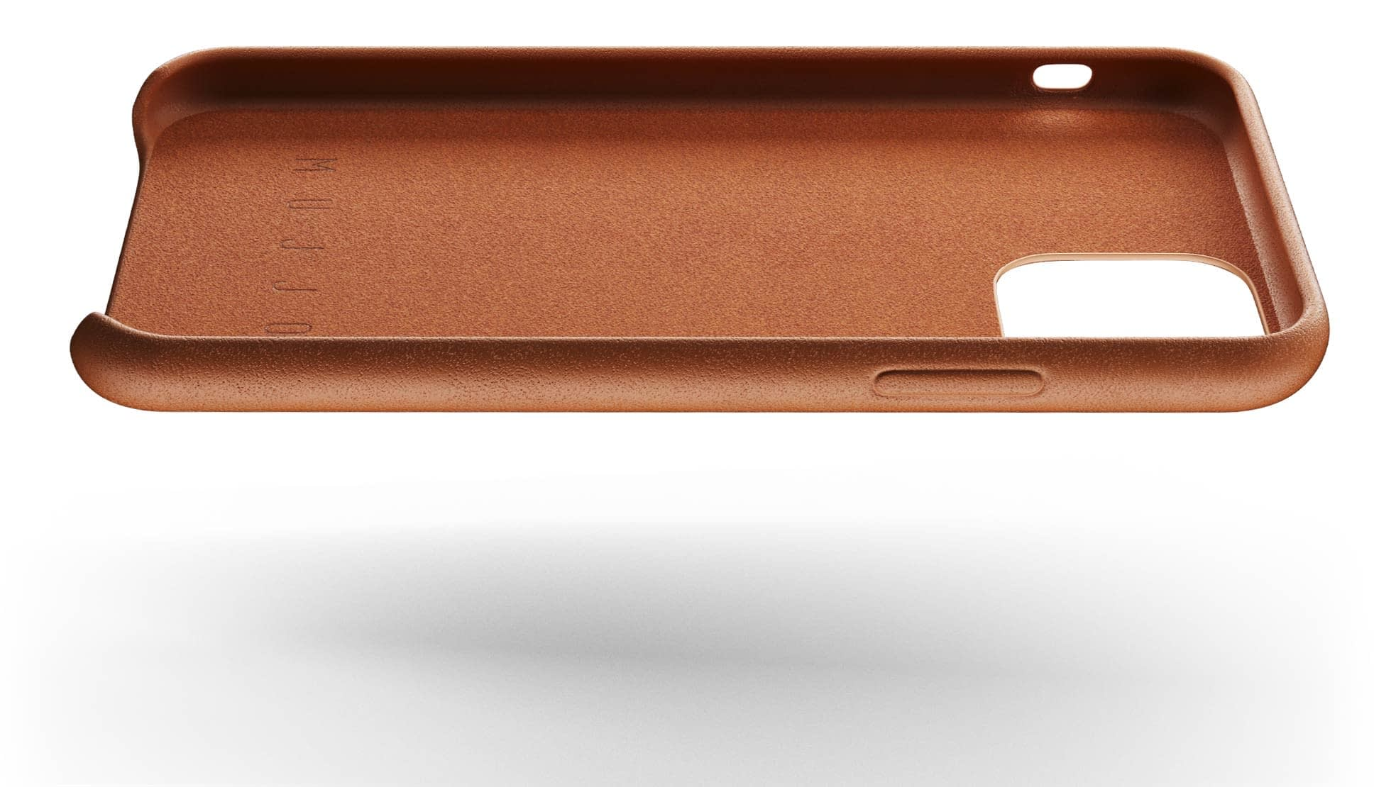 full leather case for iphone 11 tan 004