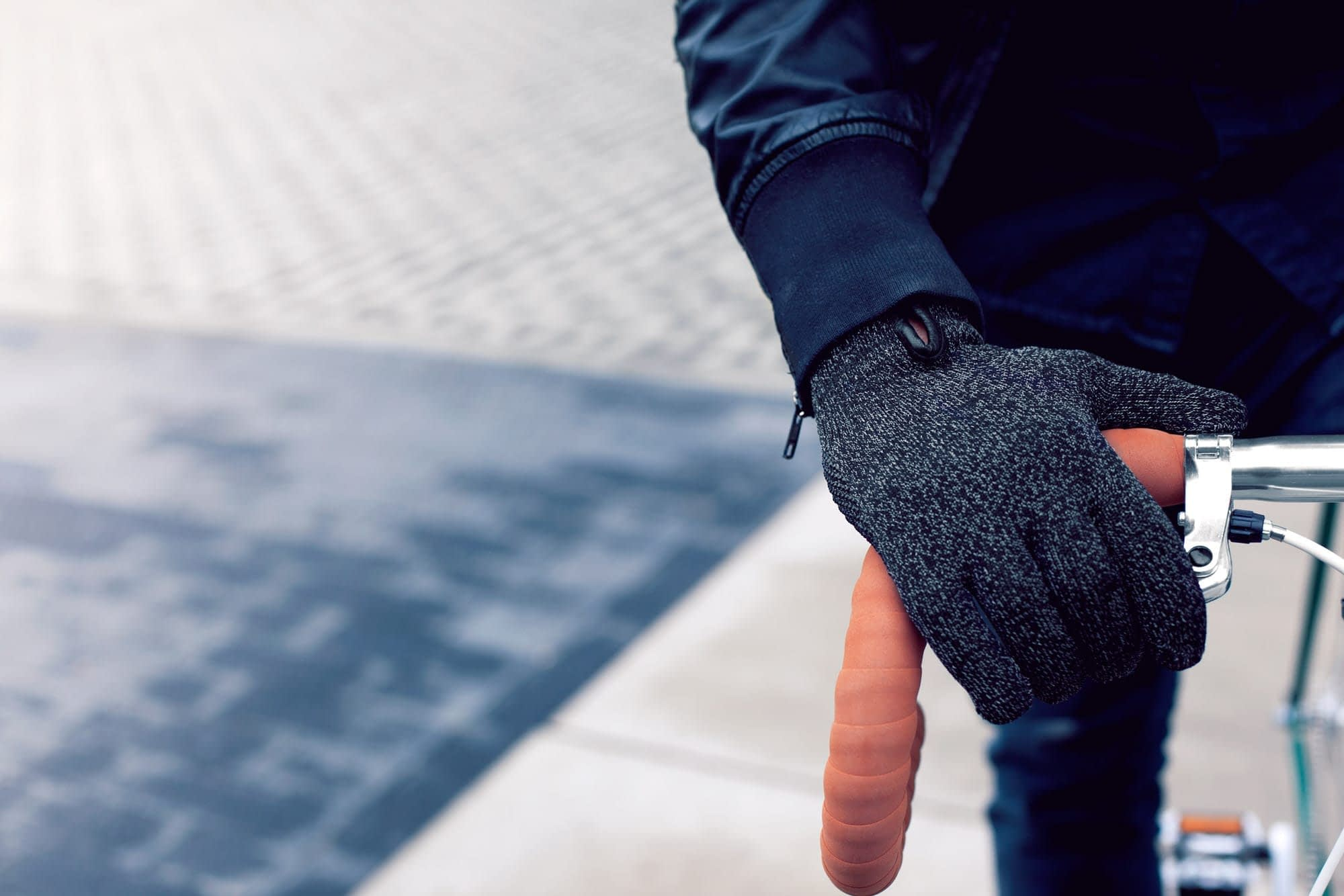 Double Layered Touchscreen Gloves Fixed Gear 002