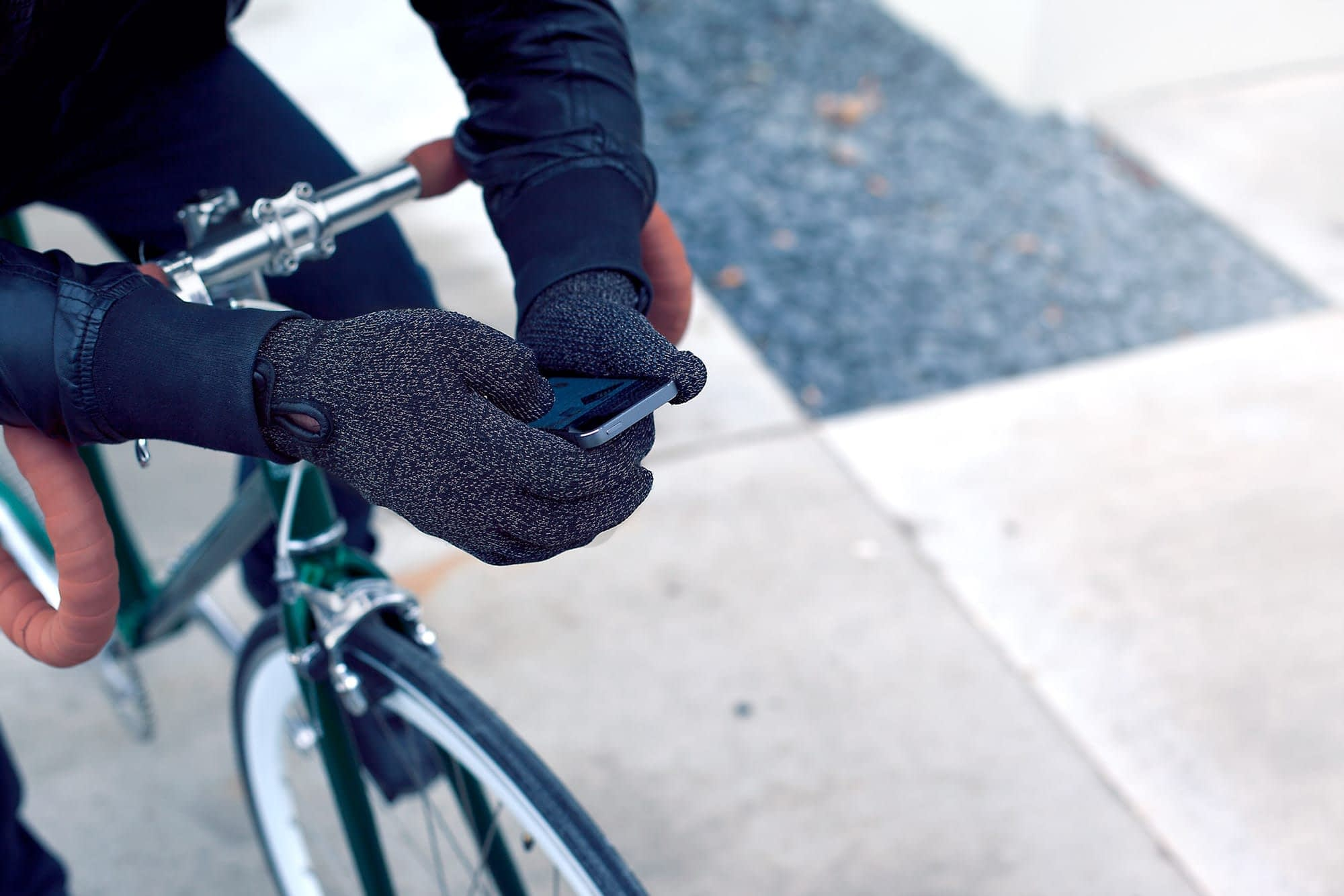 Double Layered Touchscreen Gloves Fixed Gear 003