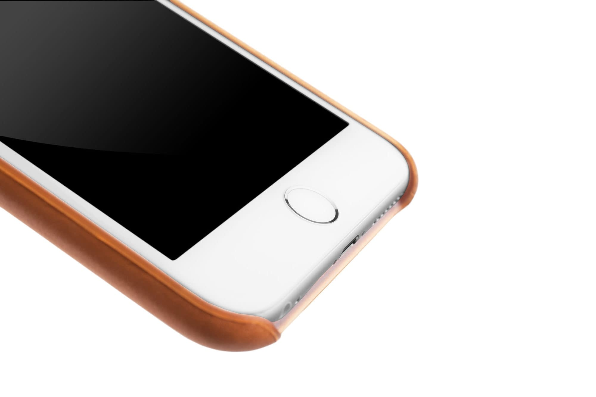 Leather Case for iPhone 6s Plus Tan 014