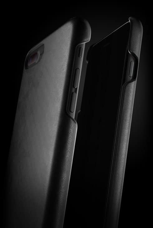leather case for iphone 7 plus black 002