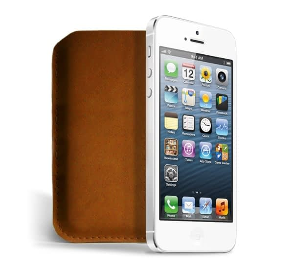 iPhone 5 sleeve iphone 5 white out originals collection