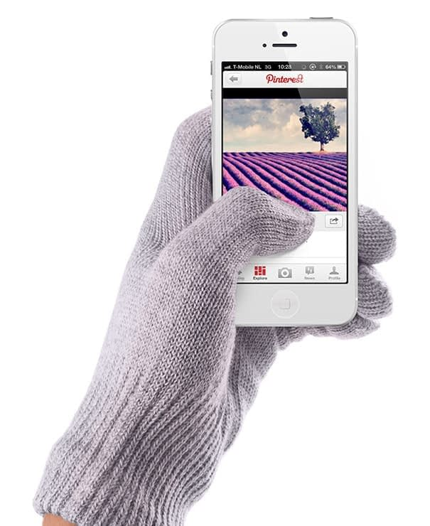touchscreen gloves lavender by mujjo aw1213 collection